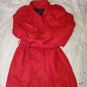 Woman's London Fog  size 14 trench coat.